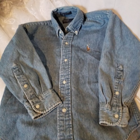 Polo by Ralph Lauren Other - Ralph Lauren Boys Denim Shirt Sz S(6-8)